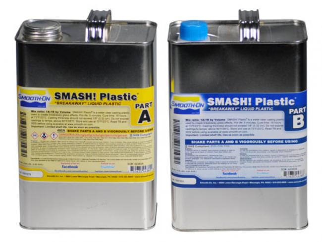 Smooth-On – Breakaway Glass Plastic