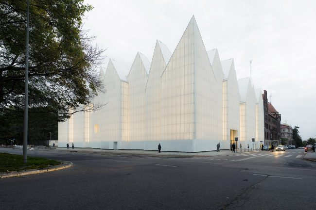Philharmonic Hall in Szczecin, Poland
