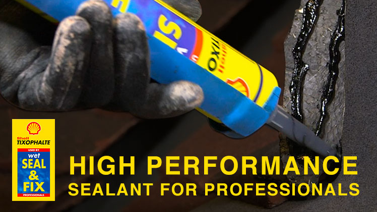 Shell Tixophalte Wet – High Performance Sealant for Professionals