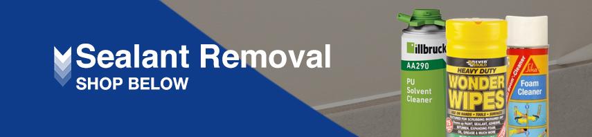 Sealant Removal