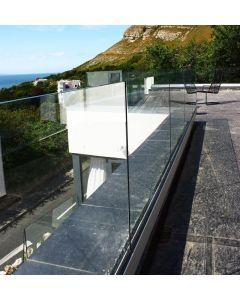 Q-Railing Frameless Glass Base Channel - Top Mount