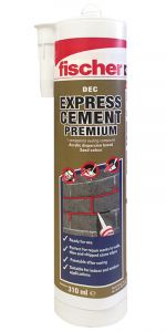 Fischer DEC Premium Express Cement - Sand
