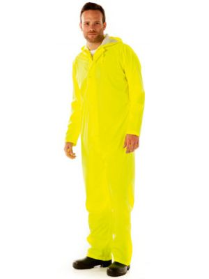 Arco Essentials Foul Weather PU Coverall Saturn Yellow M-XXL