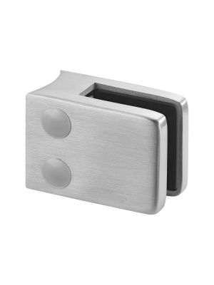 10.76mm Laminated Square Glass Clamp, Radius Mount, Style MOD 42