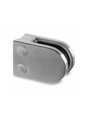 10mm D Shaped Glass Clamp - Radius Mount - Mod 22