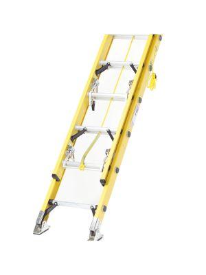 Fibreglass Extension Ladders with Stabiliser Bar