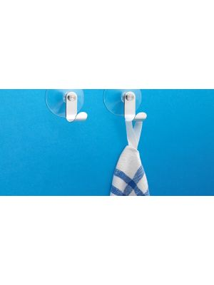 Stainless Steel Suction Hook (Pair)