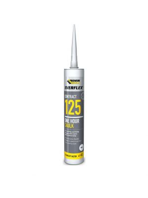 Everflex Contract 125 One Hour Caulk - White