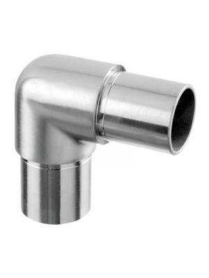 Circular 90 Degree Flush Fitting Tube Connector