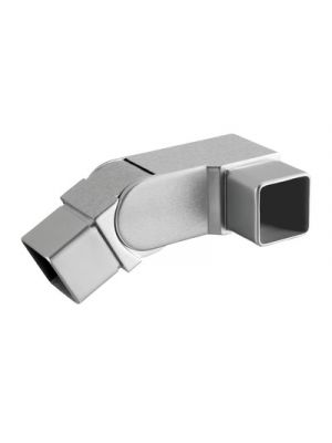 Square Adjustable Angle Connector- Flush Fixing