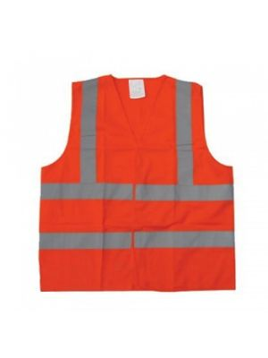 Essentials 2B&B Hi-Visibility C2 Waistcoat (Orange)