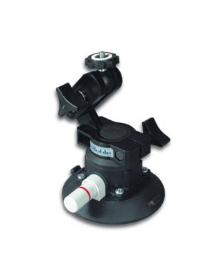 Pump-Activated Suction Holder with Ball Joint