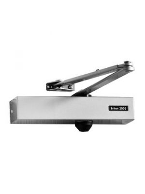 Overhead Door Closer - Briton 2003e Silver
