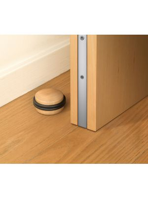 Double O-Ring Wooden Door Stop