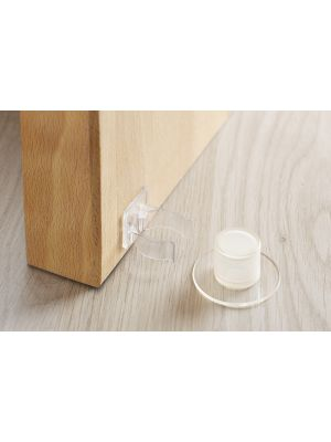 Adhesive Door Stop and Clamp Retainer