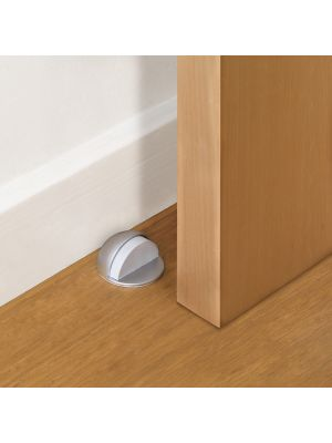 Adhesive Metallic Door Stop
