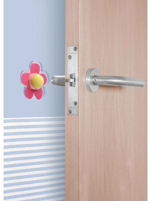 Flower Adhesive Wall Door Stop