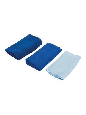 Microfibre Cloth Cleaning Set, 3pce
