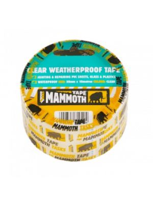 Everbuild Mammoth Clear Weatherproof Tape
