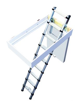 2.9M Telescopic Loft Ladder
