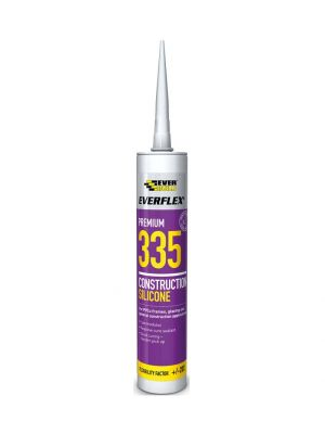 Everflex Premium 335 Construction Silicone Sealant