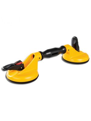 Veribor Swivel Head 55kg Suction Lifter with Vacuum Indicator
