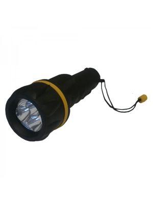2D Rubber Torch, 3 LED