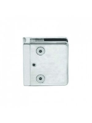 CRL 54x58mm Square Glass Clamp For 10mm Toughened Glass