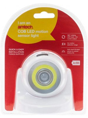COB LED motion sensor light