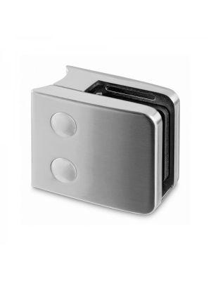 8mm Square Glass Clamp - Radius Mount - Mod 26