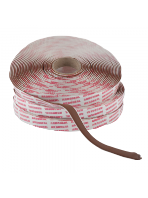 Arboseal Teak Intumescent Fire Resistant Tape, 15mm x 3mm x 12M