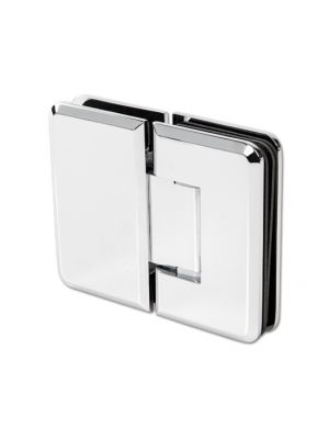 Barcelona Shower Door Hinge - Glass To Glass