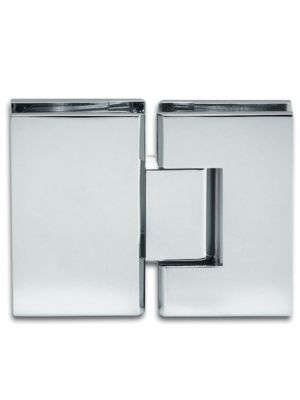 Bilbao Shower Door Hinge - Glass To Glass