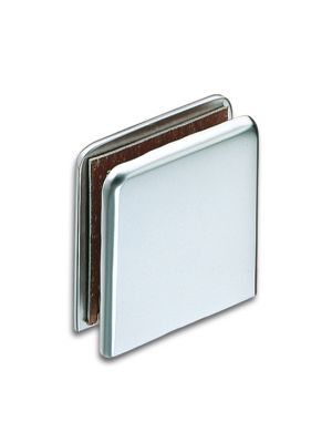 Granada Shower Door Connector - Glass To Wall - Chrome Plated