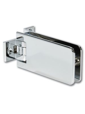Granada Shower Door Hinge - Both Sides Wall Mounted - Chrome Plated