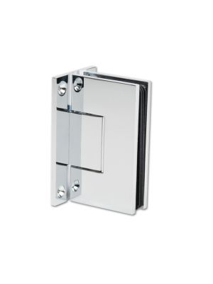 Bilbao Premium Shower Door Hinge - Both Sides Wall Mounted - Chrome Plated