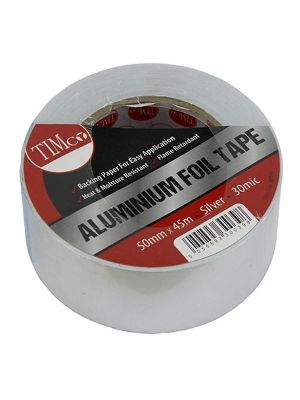 Timco Aluminium Foil Tape 45m Roll