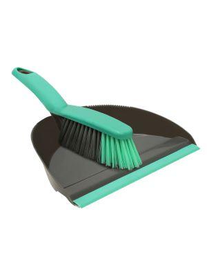Dustpan and Brush Set - Grey