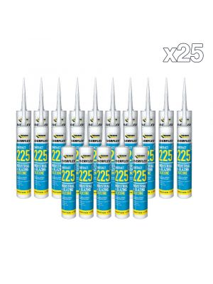 Box of 25 Everflex Contract 225 Industrial & Glazing Silicone
