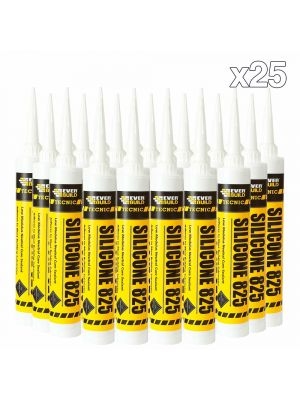 Box of 25 Everbuild 825 Silicone
