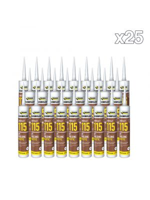 Box of 25 Everbuild Everflex Contract 115 GP Mastic