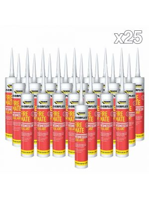 Box of 25 Everbuild Fire Mate Sealant