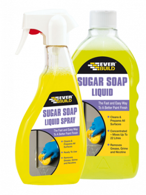 Everbuild Sugar Soap Liquid - Trigger Spray