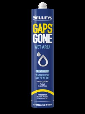 Selleys Gaps Gone Wet Area Sealant - Trans