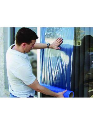 Glass Protection Film - Medium Tack (Transparent Blue)
