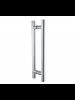 Glass Pull Handle with Lock - 316 Marine Grade