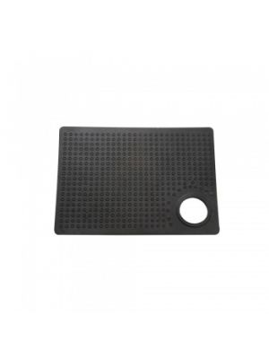 Glass Handling Rubber Lap With Thumb Hole