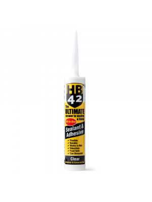 HB42 Ultimate Sealant, Clear