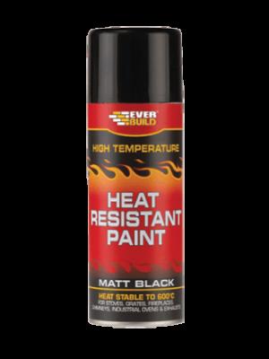 Everbuild Heat Resistant Paint Aerosol, A5015