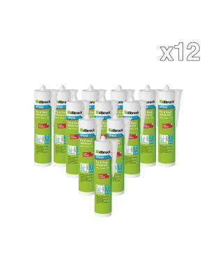 Box Of 12 Illbruck SP050 Fix & Seal Universal Adhesive